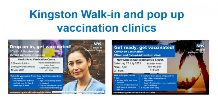 Information for Kingston walk in clinics