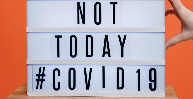 coronavirus not today