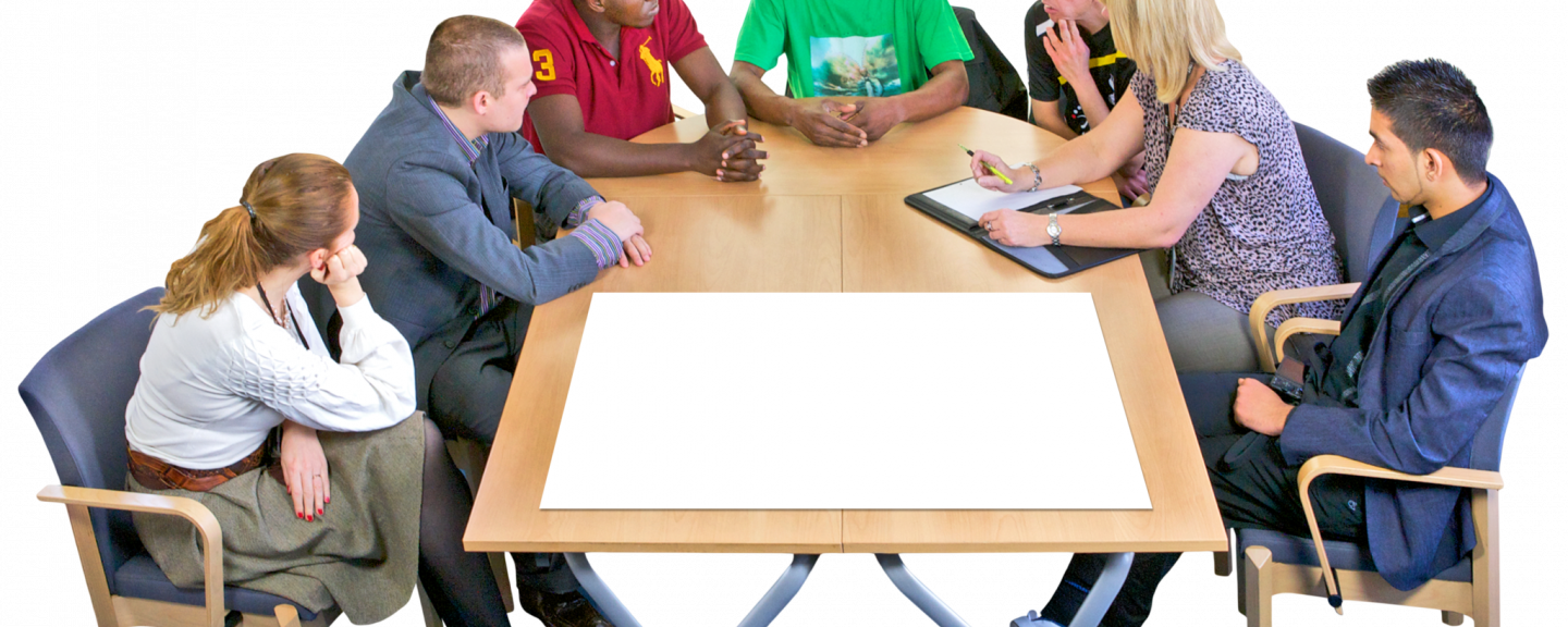 Picture of people at a meeting