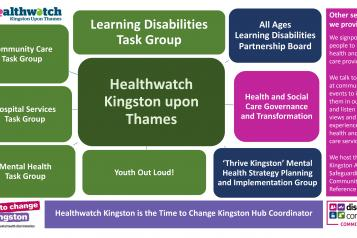 The ways we work at Healthwatch Kingston