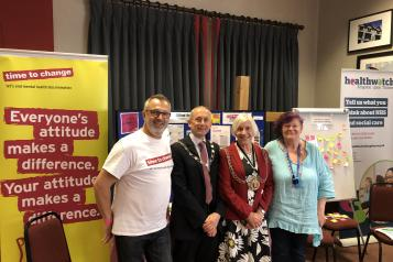Healthwatch Kingston and RBK Mayor
