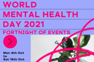 Information for Mind in Kingston World Mental Health Day
