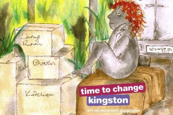 Zine front cover illustration