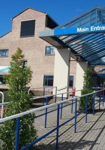 Kingston Hospital entrance